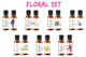 Floral Fragrance Oil Package| Fragrance Oil - Floral 10ml/.33oz