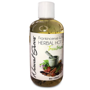 Frankincense & Myrrh Herbal Hot Oil Treatment