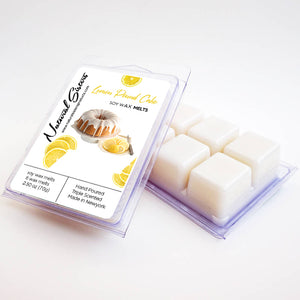 Lemon Pound Cake Fragranced Soy Wax Melts and Tarts - Concentrated Fragrance Oils | Non Toxic- Handmade in NYC- 6pc /2.5oz as packed