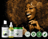 Mini Growth Kit! Detox Shampoo 4oz Tea Tree Rosemary Deep Conditioner 4oz , 2 oz Elixir!