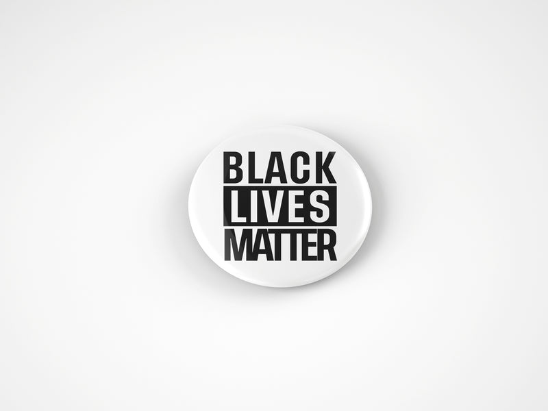 Black Lives Matter | Pins- Pinback Buttons 2.25""