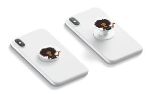 Natural Sisters Logo | Pop Sockets - Collapsible Grip & Stand for Phones and Tablets