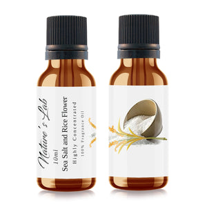Sea Salt and Rice Flower Fragrance Oil | Fragrance Oil - Sea Salt and Rice Flower 10ml/.33oz