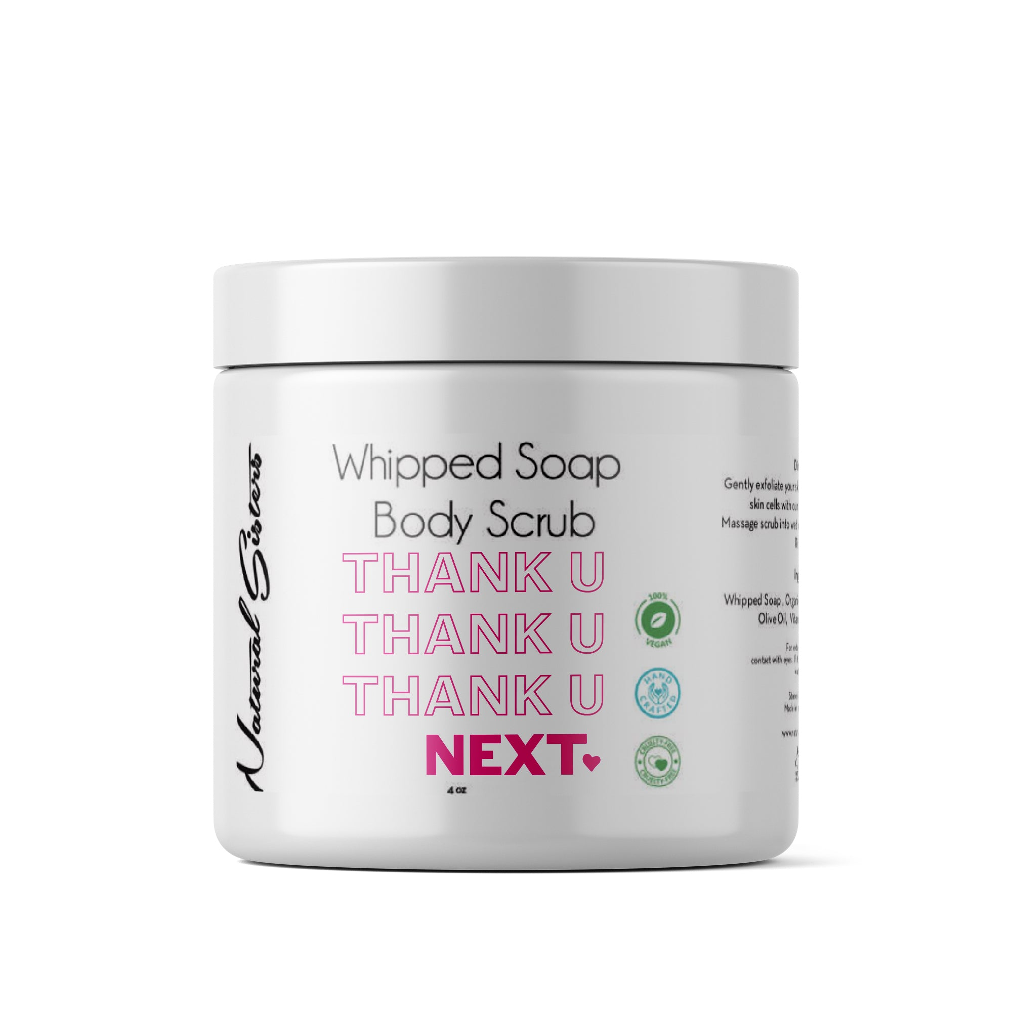 Thank You Next Body Scrub