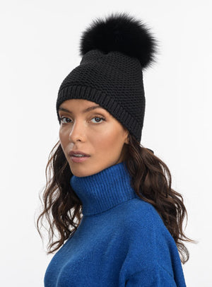 The Icon Beanie - Fur