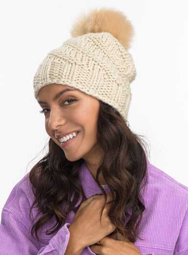 Highline Faux Fur Beanie