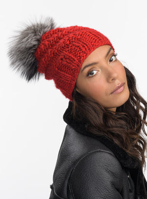 Highline Fur Beanie
