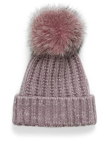 d5029f839d9 Kyi Kyi Chunky Knit Fur - Luxe Winter Accessories for the Fashion Trendy