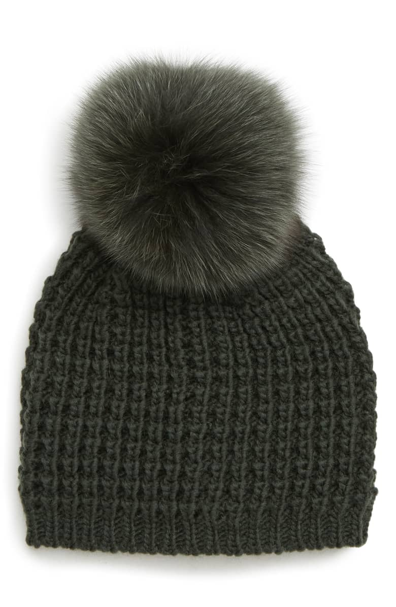 a44ee71bb383c Kyi Kyi Minnie Double Pom - Luxe Winter Accessories for the Fashion ...