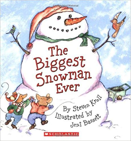 the biggest snowman ever book