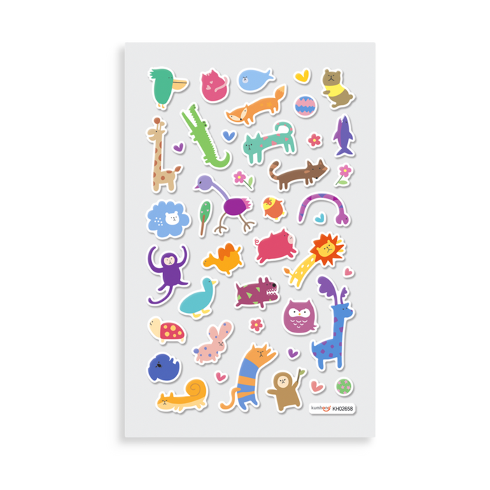 Its Bitsy Wacky Wildlife Stickers
