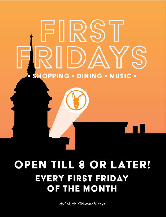 First Fridays Handouts