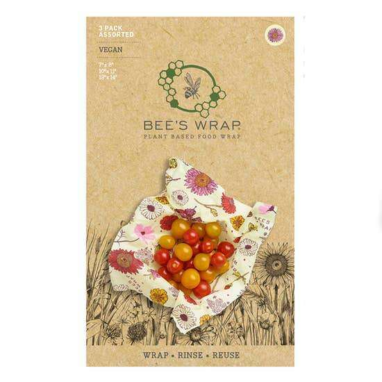 Vegan Pack of Assorted Size Wraps
