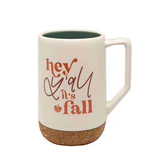 Hey Y'all It's Fall Mug