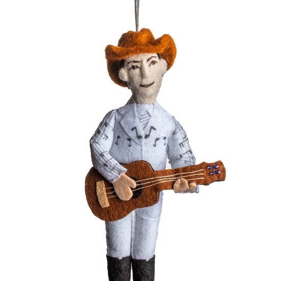 Hank Williams Sr. Ornament