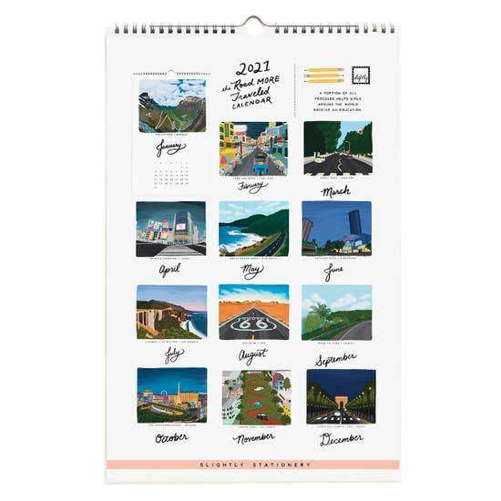 2021 The Road More Traveled Calendar