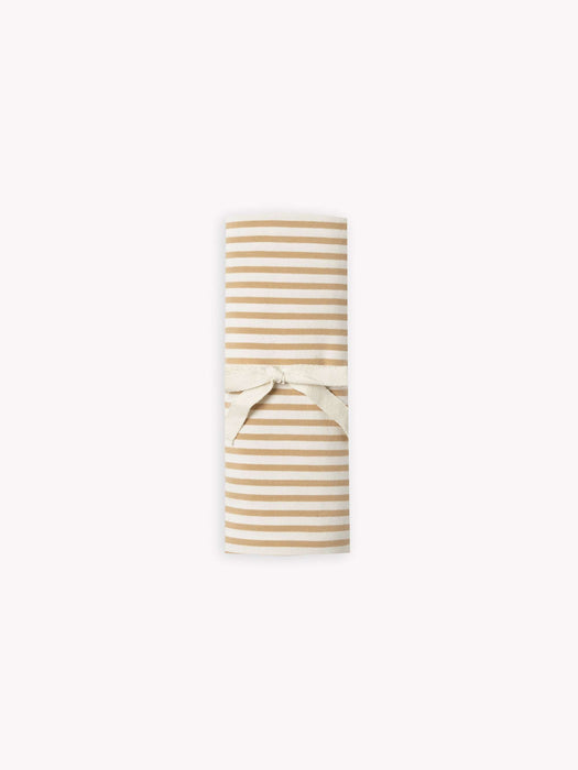 Honey Stripe Baby Swaddle