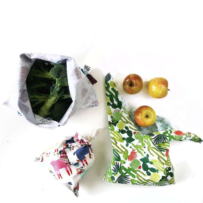Flannel Bento Bag Set