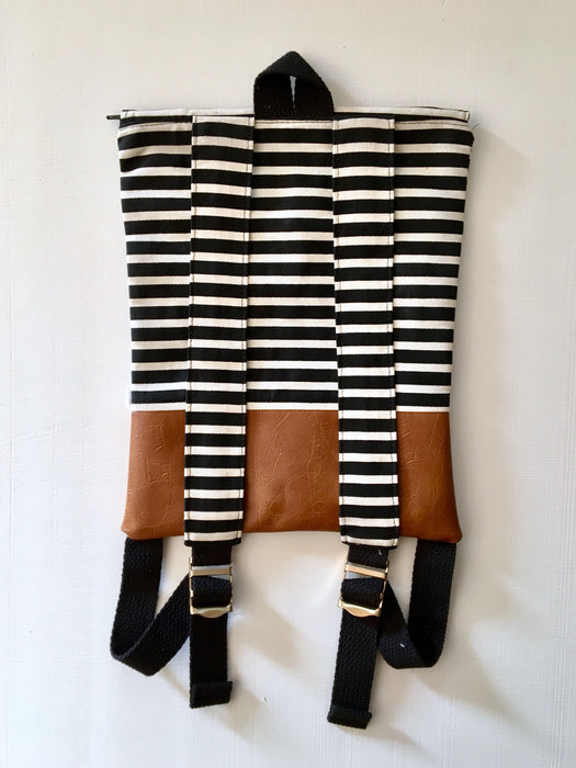 Black and White Stripe Adventure Pack