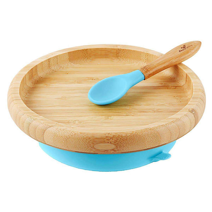 Bamboo Toddler Suction Plate + Spoon