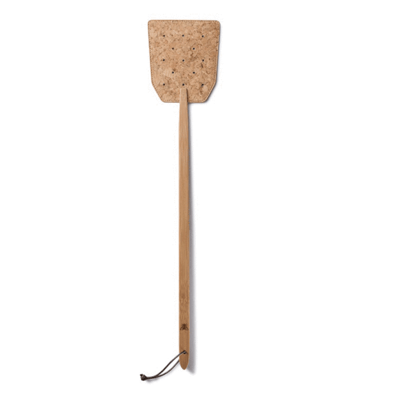 Bamboo and Cork Fly Swatter