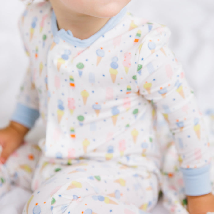 Ice Ice Cream Baby Magnetic Coverall