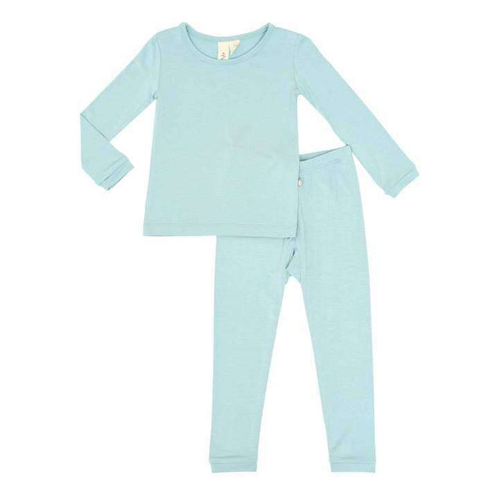 Toddler Pajama Set in Seafoam