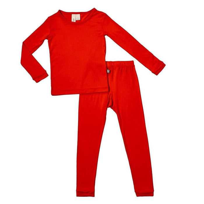 Toddler Pajama Set in Crimson