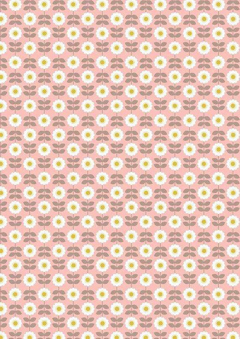 Retro Daisy on Pink