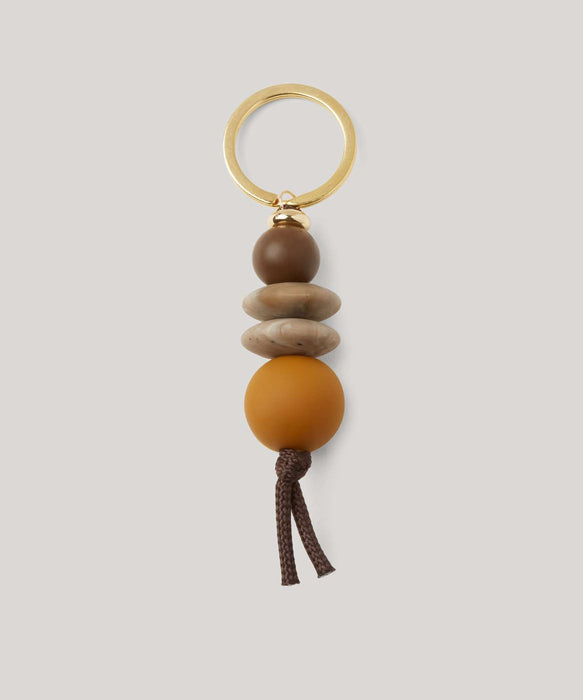 Saddle Teething Keychain