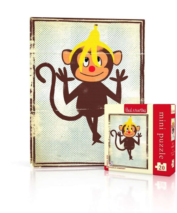 Silly Monkey Mini Puzzle