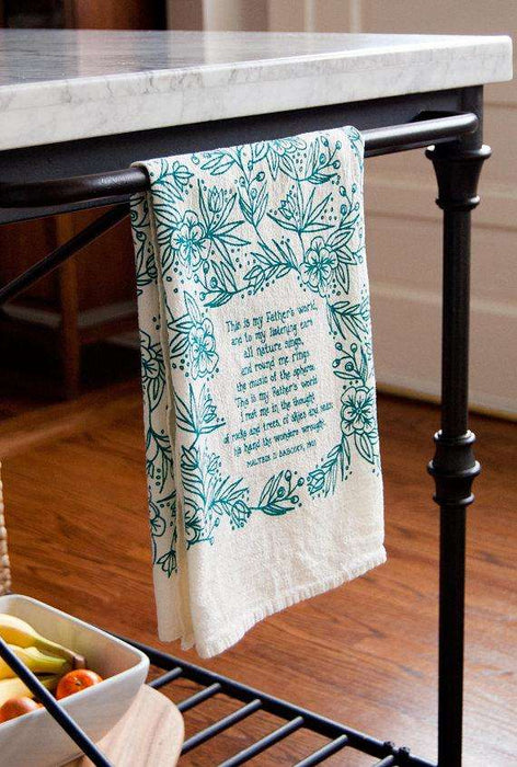 This is My Father's World Kitchen Towel