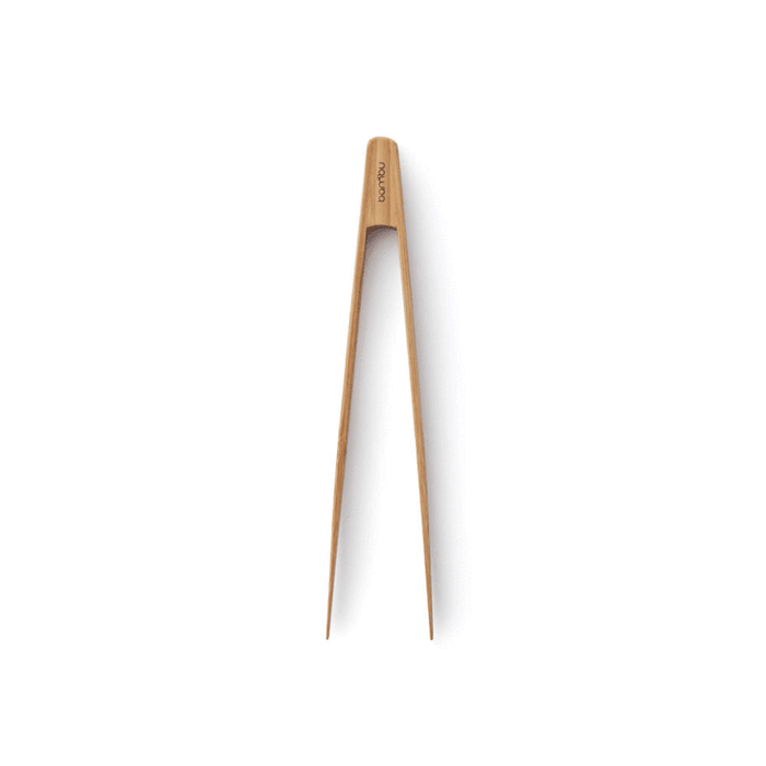 Bamboo Small Tongs