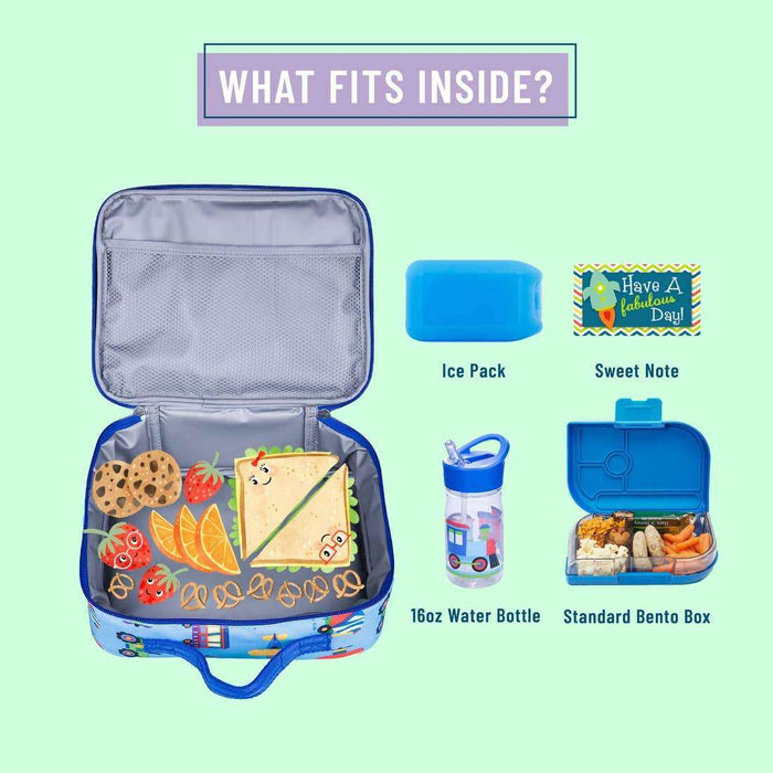 Trains, Planes, and Trucks Lunch Box