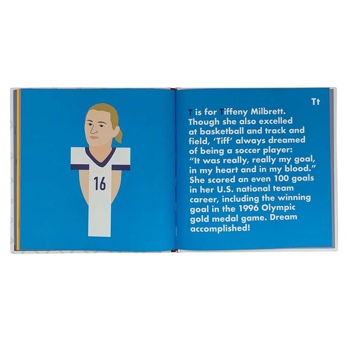 Women's Soccer Legends Alphabet Book