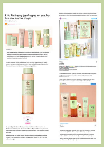 Cosmopolitan PSA: Pixi Beauty Just Dropped Not One, But Two New Skincare Ranges