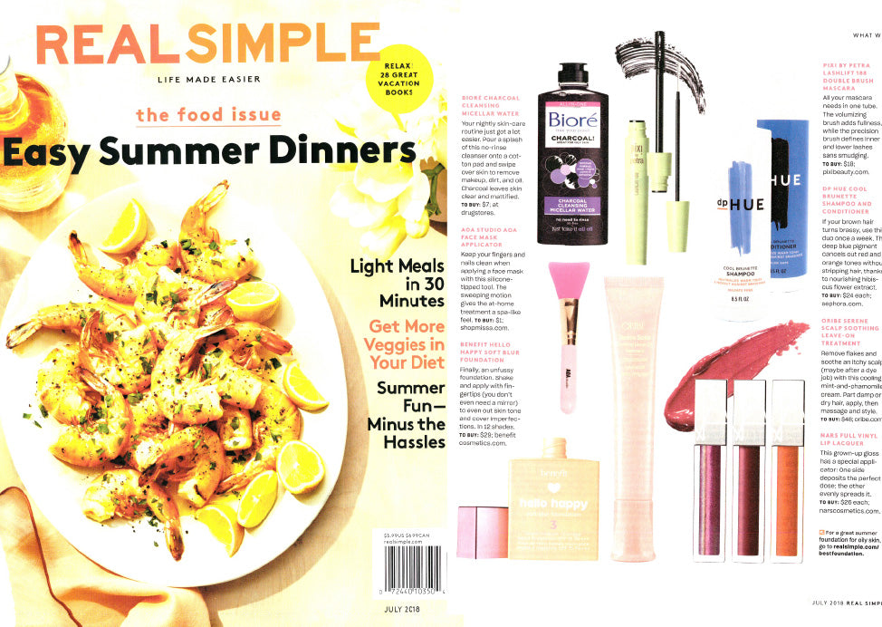 Real Simple Magazine July 2018