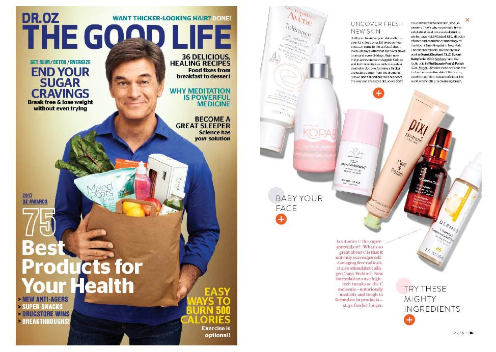 Dr. Oz The Good Life Magazine February 2017