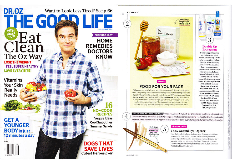 Dr. Oz The Good Life Magazine July 2016