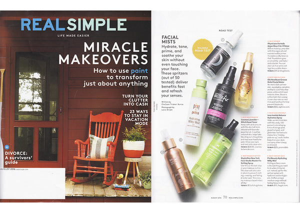 Real Simple Magazine August 2016