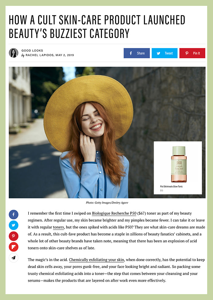 Well and Good: HOW A CULT SKIN-CARE PRODUCT LAUNCHED BEAUTY'S BUZZIEST CATEGORY