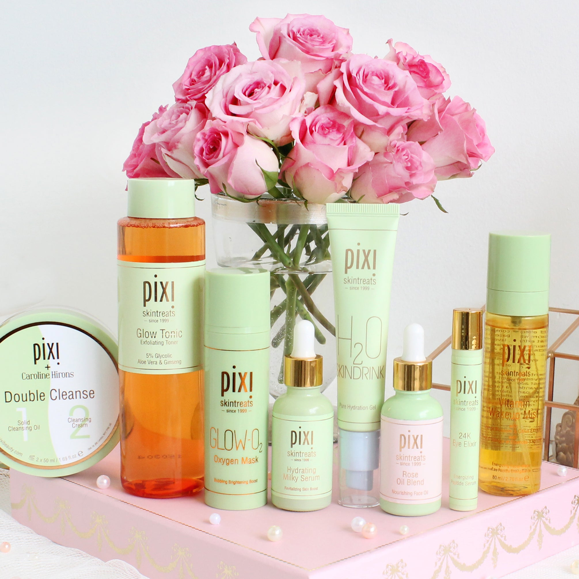 Pixi Beauty Bridal Skincare Routine