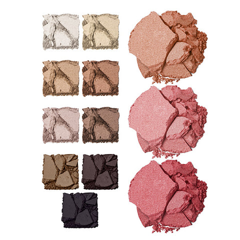 Palette Chloette Multi-purpose Eye, Brow, Cheek, and Face Palette Swatches