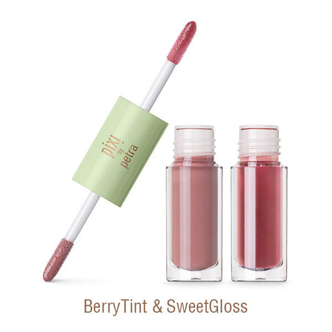 GelTint & SilkGloss in BerryTint & SweetGloss