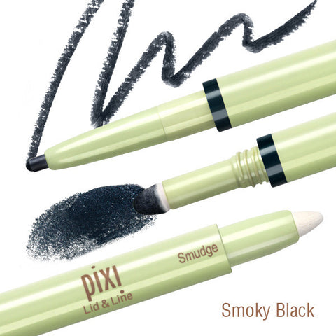 Lid & Line Eye Shadow and Liner Duo in Smokey Black