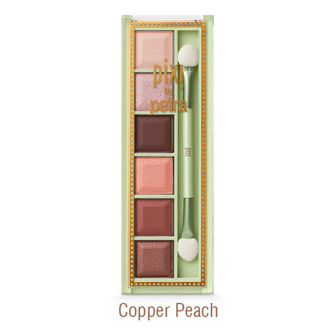 Mesmerizing Mineral Eye Shadow Palette in Copper Peach