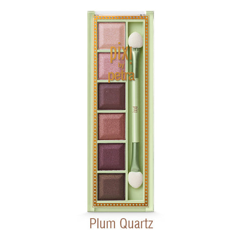 Mesmerizing Mineral Eye Shadow Palette in Plum Quartz