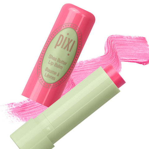 Shea Butter Lip Balm in Pixi Pink