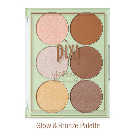 Strobe & Bronze Contour and Highlight Palette