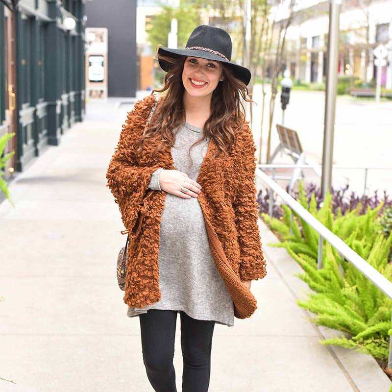 Boho Maternity Style with Lone Star Looking Glass